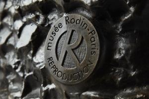 ロダン美術館正規複製品の刻印